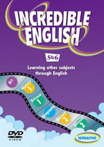 Incredible English 2ed. 5 DVD (Level 5 & 6)